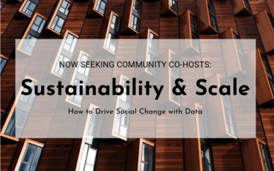 Sustainability & Scale Workshop