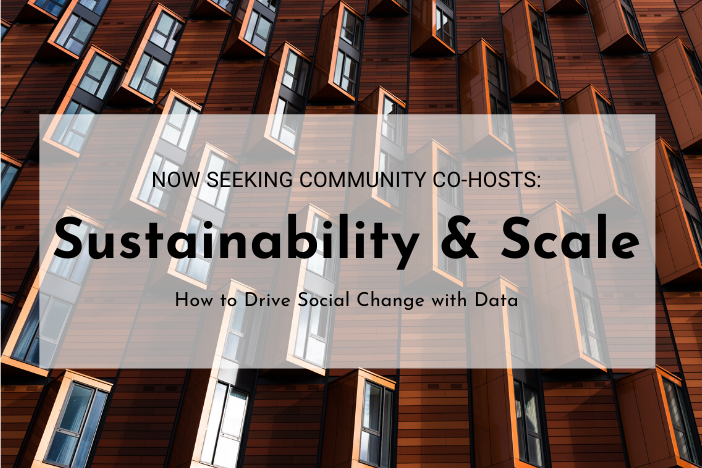 Sustainability & Scale Workshop